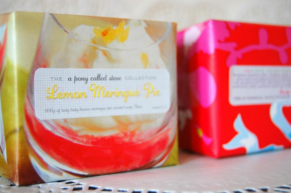 Lemon Meringue Pie - Handmade Scented Soap