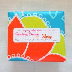 Raspberry Blossom and Honey - Handmade Scented Soap