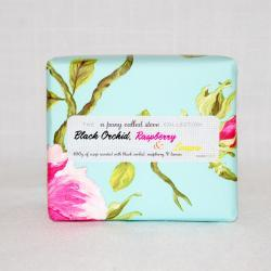 Black Orchid, Raspberry and Lemon - Handmade Scented Soap